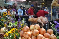 Pig Roast @ #Ferragosto #LittleItaly NY Little Italy New York, Italy News, Pig Roast, Pork Roast