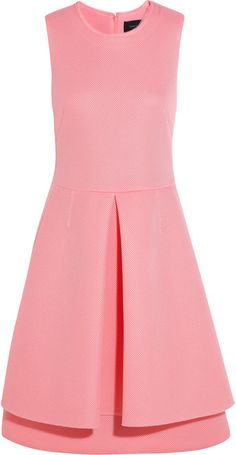 Wafermesh Dress - Lyst