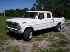 """2013 4x4 highboy   1969 Ford F250 Crew Cab """"69 Crew 4x4"""" - St. Louis, MO owned by ..."""