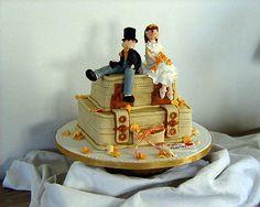 Fuentes de chocolate y tartas para tu boda #boda #dulces #repostería