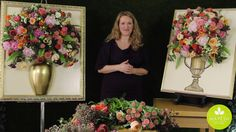 Inspired Floral Design With Beth O'Reilly {January 2015}: Framed Floral Sculpture