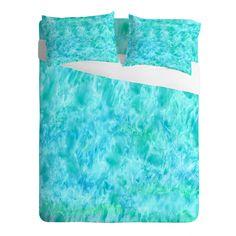Rosie Brown Sparkling Sea Sheet Set   DENY Designs Home Accessories   #bed #sheets #bedding #bedroom #homedecor #art #denydesigns #rosiebrown
