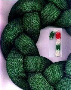 Image result for advent wreath knitted
