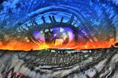 The eye on the mountain
