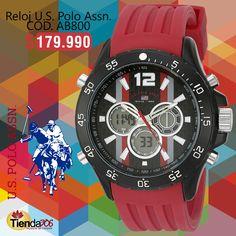 Lleva siempre contigo la elegancia y la frescura de los relojes U.S. Polo Assn.