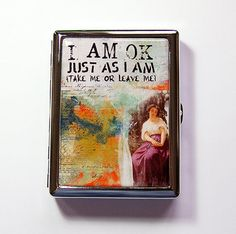 Personalize your own custom cigarette case with design or picture you like.