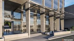ALBIA - MOTOR LOBBY 2 #Albia #offices #monterrey #building #méxico #renderings #render #3D #motorlobby
