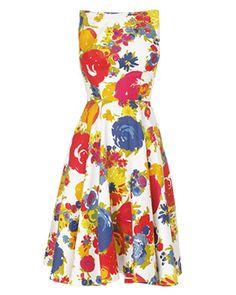 Women's Multi-ColouredAva Floral Dress phase8