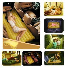 Dopobo Luftmatratze Air Bed Overnight Dickere Matratze Luftbett mit Pumpe für Tourismus Outdoor Camping Travel:Amazon.de:Auto