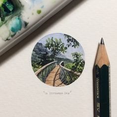 '365 Postcards for Ants', A Miniature Painting-a-Day Project by Lorraine Loots