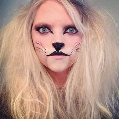 lion amazing lion makeup awesome for Halloween