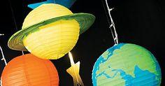 God's Galaxy VBS DIY Paper Lantern Planets Décor Idea | vbs 2017 | Pinterest | Paper lanterns, Paper and Diy paper lanterns