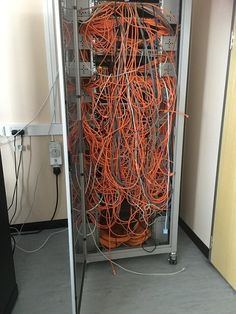Workplace cabling messes