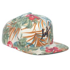 HUF CLASSIC SCRIPT FLORAL STARTER SNAPBACK RED 5 Panel Hat 9421eb2c294e