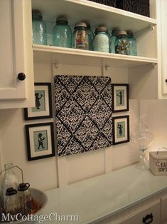 My Cottage Charm: How to decorate a Laundry Room..The BIG Reveal!!