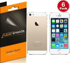 SUPERSHIELDZ- High Definition (HD) Clear Screen Protector For Apple iPhone 5 5S