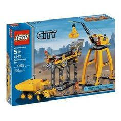 """LEGO City Construction Site 7243  Another one to add for the """"under construction"""" portion of the city."""