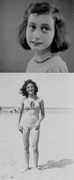 Anne Frank & Margot Frank