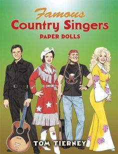 Paper Dolls, Classic Hollywood, Movie Star Paper Dolls, Cutout Dolls