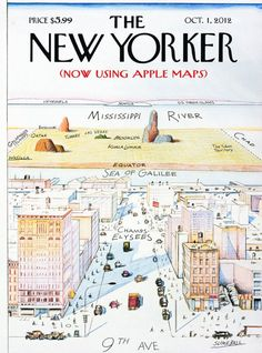 The New Yorker now using Apple Maps