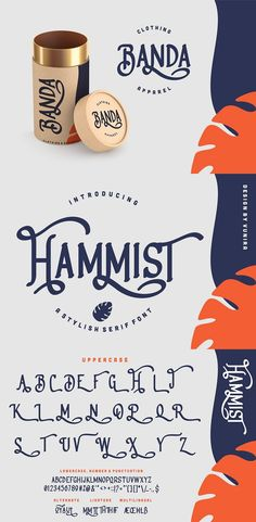 Hammist | A Stylish Serif Font with a calligraphy style, So beautiful on invitation like greeting cards, branding materials, business cards, quotes, posters, and more Product Specs Created: Sep 25, 2020 File Type: TTF, OTF File Size: 55.3 KB Vector Preview the Files The alternative characters were divided into several Open Type features such as Stylistic Sets, Stylistic Alternates, Contextual Alternate, SWASH and Ligature. #Font #Fonts #typography #Sample #Best #Modern #Creative #Fonttemplate Brochure Template, Flyer Template, Open Type, Graphic Design Templates, Branding Materials, Serif Font, File Size, Lowercase A, Business Cards