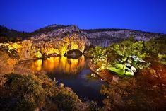 """Vouliagmeni lake - Attica, Greece."" by Hercules Milas 