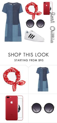 """""""Just Chillin"""" by cow-moe ❤ liked on Polyvore featuring rag & bone, J Brand, Alice + Olivia and adidas"""