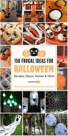 150 Frugal Halloween