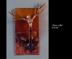 """""""New Life"""" (6 x 12) : Dave Rizzo Studios : Bronze Copper Sculptures : www.daverizzostudios.com"""