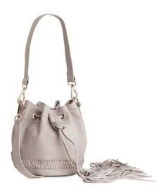 H&M Leather Bucket Bag