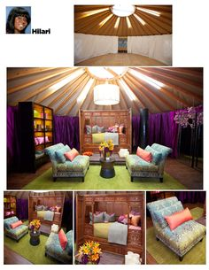 We recently had a very positive experience with reality television. No, we weren't featured on Swamp People or Jersey Shore. A little classier programming for us- HGTV's Design Star, in fact.In the spring, we were approached by the producers of Design Star. They wanted to use yurts as the challenge format