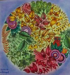 Mandala Colorida Com Lapis Maped Comum Leila Brito