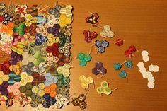 MBW quilts en andere stofzaken: hexagon