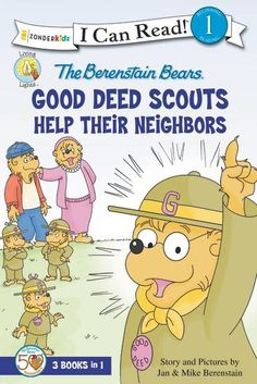 A collection of beloved Berenstain Bear Good Deed Scout stories written to the Level One I Can Read™ standards, with a special message about God's love and family.