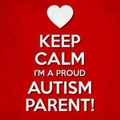 Proud autism parent