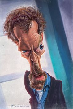 Anthony Geoffroy // CARICATURES