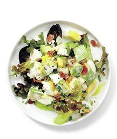 salad recipes, bacon egg salad