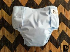 Adult Diapers - Adult Baby Diapers - Cloth Diapers for Adults - Baby Blue Adult / Teen Cloth Custom Cloth Diaper / Nappy