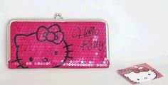 Hello Kitty Sparkle Long Slim Wallet - PINK by Sanrio. $13.99. Licensed Hello Kitty Wallet