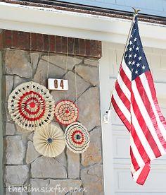 Pottery barn patriotic burlap stars knockoff