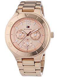a910fb1c69f2 Tommy Hilfiger Watches 1781333 - Reloj analógico de cuarzo para mujer