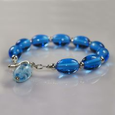 Jewelry & Watches Accessorize Blue Bracelet Ex Cond To Adopt Advanced Technology