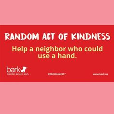 Happy Valentines Day! Show your neighbors some love and see who could use some help today. #RAKWeek2017 #RAOK #RAKIdeas #BeKind #Kindness  .  .  .  .  .  .  .  #RandomActsofKindness #KindnessMatters #HelpaNeighbor #LendaHand #KindnessisFree #app #tech