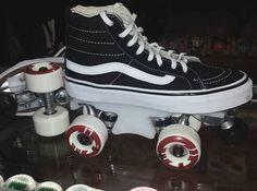 25c161eb1559 Vans Chicks in Bowls custom roller skates CIB skatepark skate