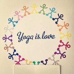 Yoga love!