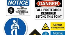 Falls that occur on a construction site can result in a fatality. Construction Safety, Signages, Philippines, Shit Happens, Fall, Autumn, Fall Season