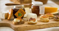 Dalmatia fig spread (and no other brand compares) with triple cream brie on apples or crackers is bliss in your mouth. Try it with a dry Pinot grigio... sigh!