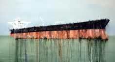 ... The Black Rock 100x180cm | by Anne Penman Sweet