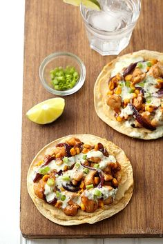 Cancel your dinner plans and add these Barbecue Chicken and Corn Tostadas with @sabradippingco hummus and a homemade jalapeno ranch dressing to your menu today.