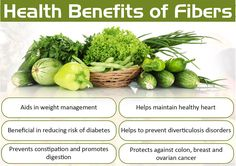 Efficient Sources Of Fibers For The Human Body Functioning